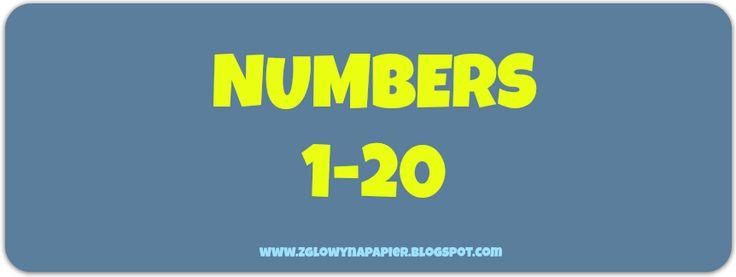 SALE, czyli wyprzedaż na zajęciachCount and move (numbers 1-20)