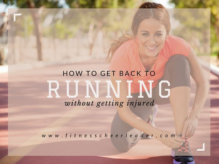 How to get back to running