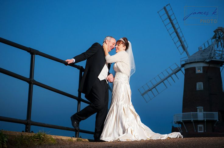 Wedding at Cley Windmill