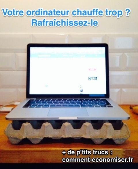 Votre Ordinateur Portable Chauffe Trop? L'Astuce Pour Le Rafraîchir.