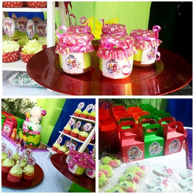 Pinypon party compotas pink sugar#pinksugar #cupcakes  #homemade  #casero  #barranquilla #pasteleria #reposteriacreativa #tortas #fondant #reposteriabarranquilla #happybirthday  #cake #baking  #galletas #cookies  #pinksugar #wedding #buttercream #vainilla #minion #oreo #passionfruit #cupcakesbarranquilla #pinyponparty #pinypon #pinyponcake