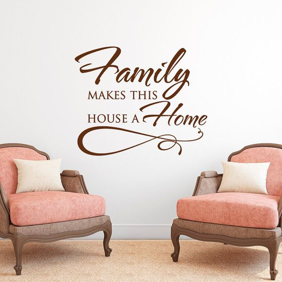 Best 20+ Wall Decal Quotes Ideas On Pinterest | Family Wall Quotes, Beauty  Salons And Wall Vinyl