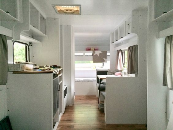 die besten 25 wohnwagen renovierung ideen auf pinterest camper renovieren wohnwagen makeover. Black Bedroom Furniture Sets. Home Design Ideas
