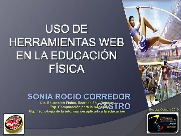 USO HERRAMIENTAS WEB EN LA EDUCACION FISICA