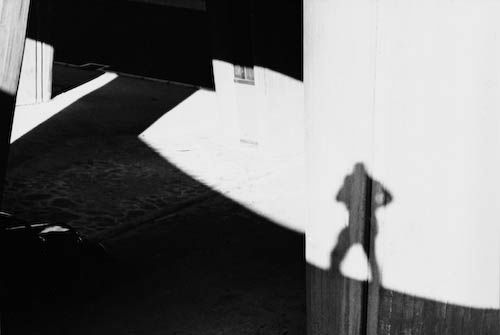 © Lucien Hervé- - I love pictures with just someone's shadow.
