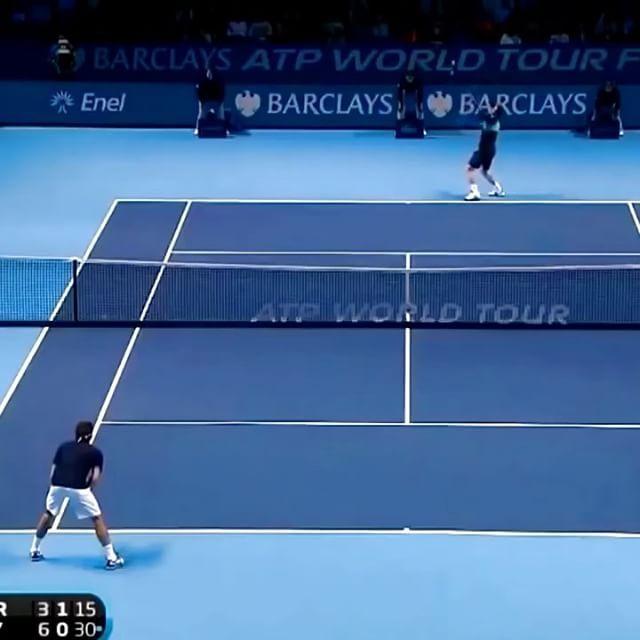 Federer comes out of it!! 😎😜🔥#tennis #etennisleague #federer #rogerfederer #tennismatch #tenniscourt #niketennis #tennisvolley #tennispoint #federerstyle #themaestro #tennistournament #atp #atpworldtour #awesomeshot #tennispro #tenis #tennista #tennisvideo #barclaysatpworldtourfinals #tennistime #etennisleaguenation #amazingexchange #federershot #netplay #awesometennis #tenis🎾 #tennisball #tennisplayers #tennisplay