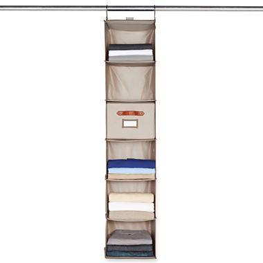 Michael Graves Design Hanging 6 Shelf Closet Organizer   Jcpenney