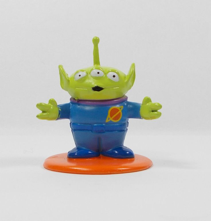 Toy Story - Alien - Toy Figure - Cake Topper - Disney 2001