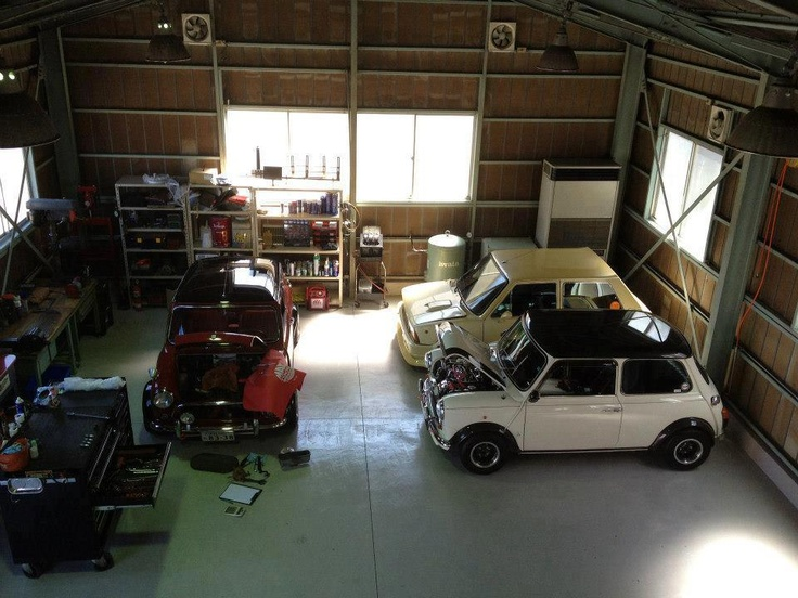 1000 images about garages with a difference on pinterest for Garage austin mini