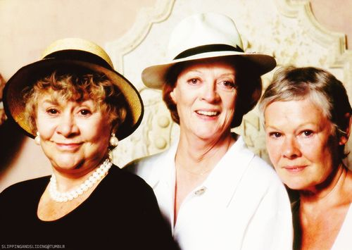 Joan Plowright, Maggie Smith, and Judy Dench