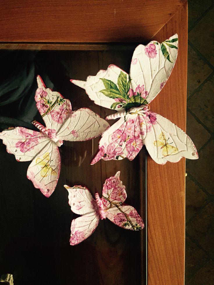Polyester kelebekler,sipariş alınır,40 tl