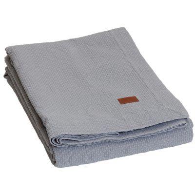 Rhomb sengeteppe fra Gant Home. Et mykt og stilrent sengeteppe i en herlig nyanse. Sengeteppet har f...