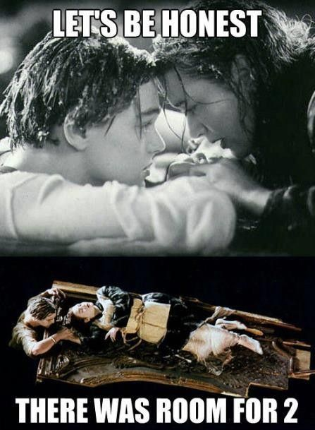 I've always noticed this!Thoughts, Rose, The Doors, Be Honest, Movie, Funny Stuff, Leonardo Dicaprio, Lets Go, True Stories