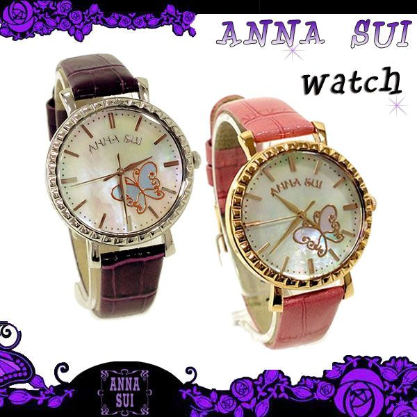 Jos Brand Select Shop | Rakuten Global Market: Anna sui watches watch accessories mother of Pearl Dial Watch 2 colors watch with box