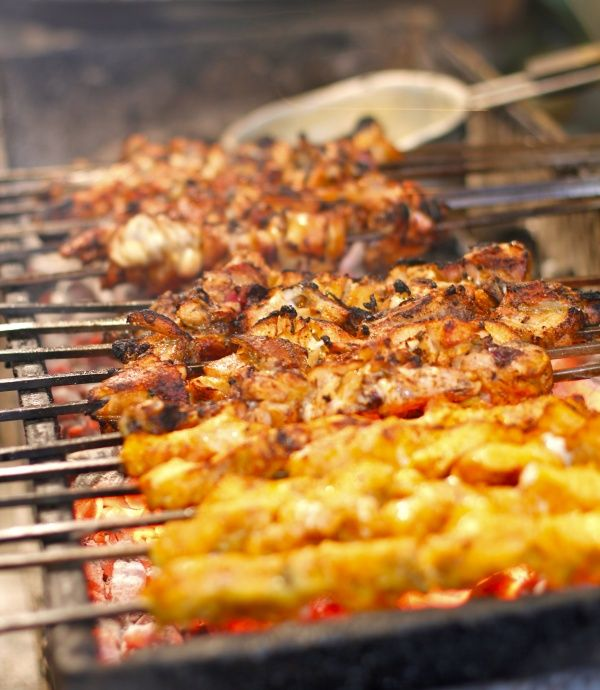 In the Muslim holy month of Ramzan, Old Delhi place becomes a gastronome's paradise with degs of biriyani, kebabs simmering on coal grills, tawas piled with marinated meats, vats of curries, sherbets, mountains of sweets, all waiting to be devoured.
