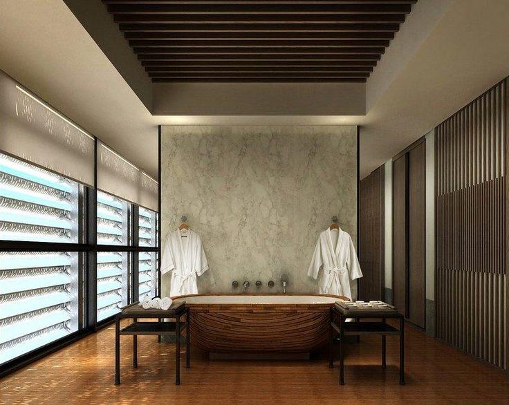 Die besten 25+ Marmorwand Ideen auf Pinterest Marmor-Interieur - freistehende badewanne schlafzimmer