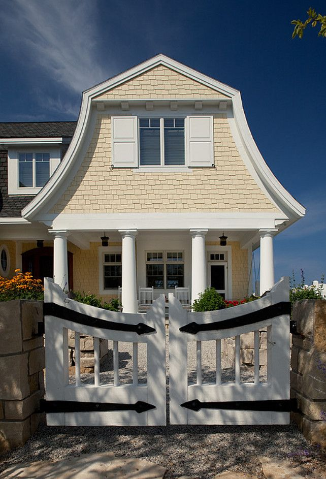 CURB APPEAL – another great example of beautiful design. Coastal Cottage.