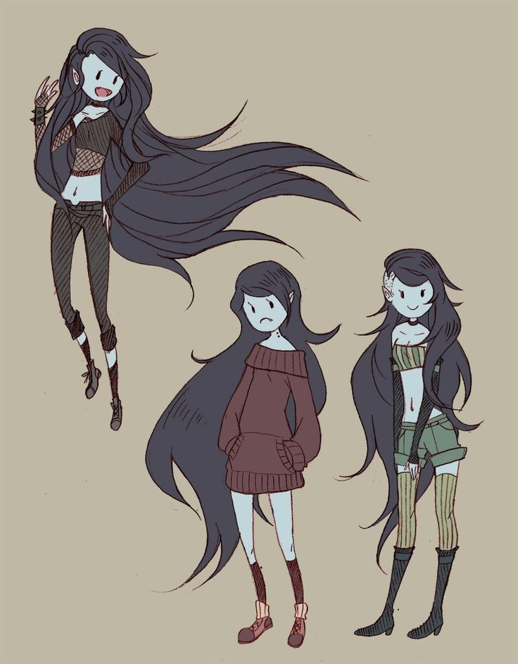 Adventure Time Challenge Day 26: I definitely wouldn't mind being Marceline for a day!