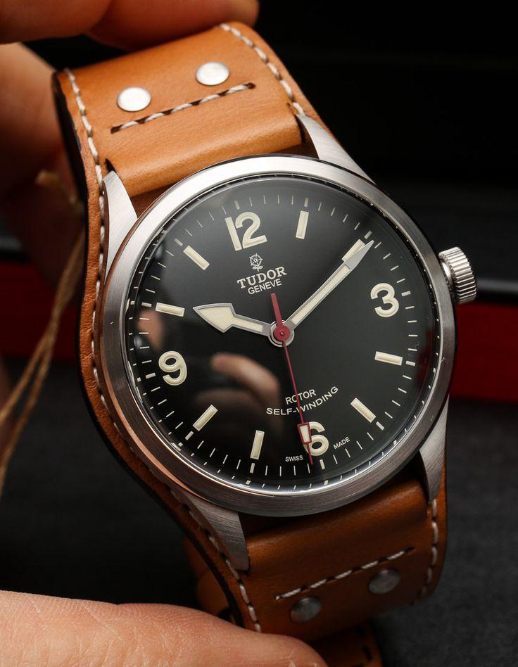 Tudor Heritage Ranger 79910 Watch For 2014 Hands On hands on