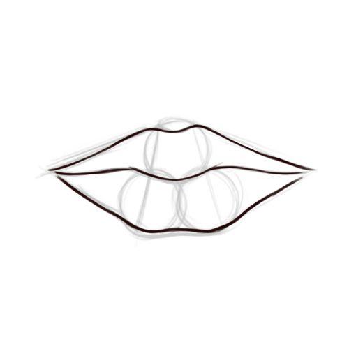 desenhar boca tutorial