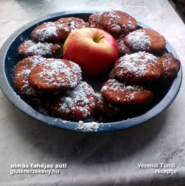 Almás-fahéjas korongok - gluténmentes süti Tünditől
