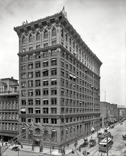 Completed In 1905 The Columbus Savings Trust Building Known