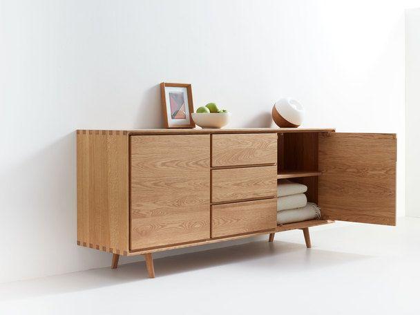 Sideboard Tesoro 2 Turig 3 Laden Retro Sideboard Furniture