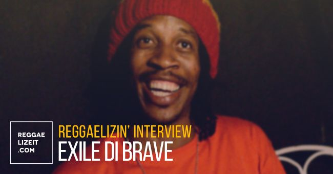 INTERVIEW: Exile di Brave @ Kingston, Jamaica - February 2016  #EDBEntertainment #ExilediBrave #ExileDiBrave #ExilediBraveinterview #reggaelizeitinterview #ReggaelizinInterviews #RockDemRiddim #Sherkhan #TheCalling #TheJourneyBegins #tigerrecords #ToTheFoundation #VeggieMealsonWheels #VinylThurdays