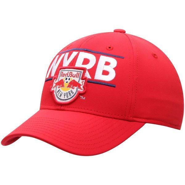 New York Red Bulls adidas Structured Flex Hat - Red - $13.19