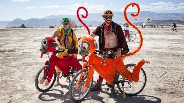 The Bikes, Art Cars, and Wacky Vehicles of Burning Man | Outside Online