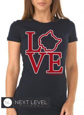 Arizona Wildcats LOVE shirt