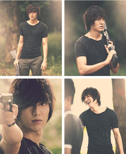 Lee Minho in City Hunters <3