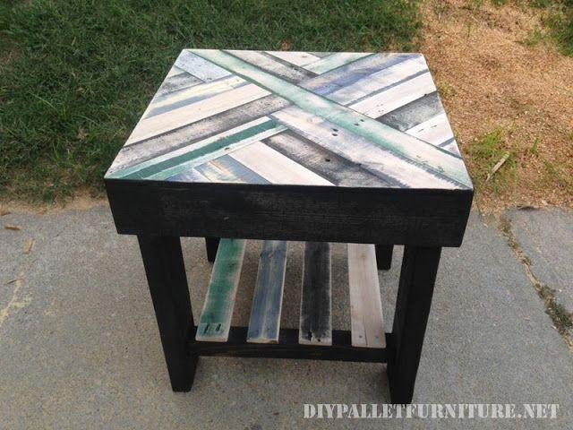 mueblesdepaletsnet mesas con cenefas hechas con palets