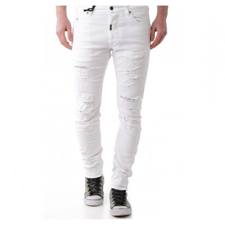 Absolut Joy Miesten valkoiset housut