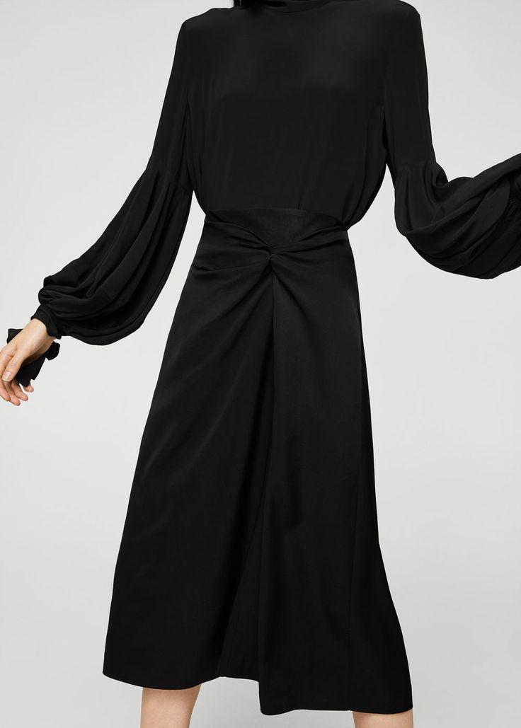 Peggy Pardon Picks - Black knot skirt