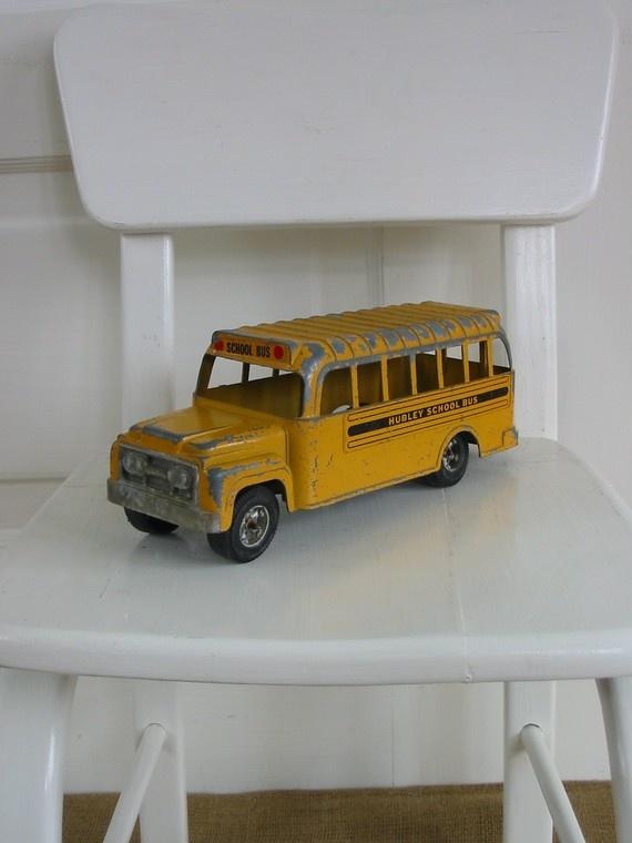 school bus. Sold, but still cute.