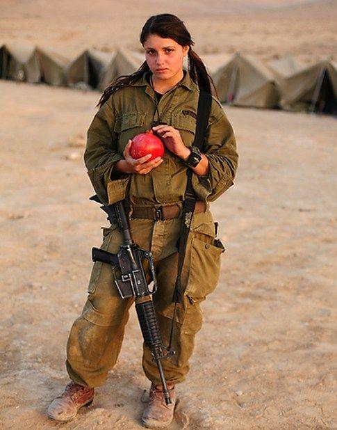 israeli+woman | Beautiful Female Soldiers of Israeli Defence Forces ~ Global Military ...