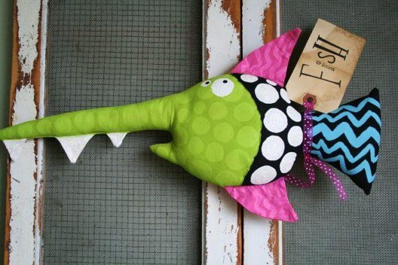 Here Fishy Fishy .... FABIAN by buttuglee on Etsy