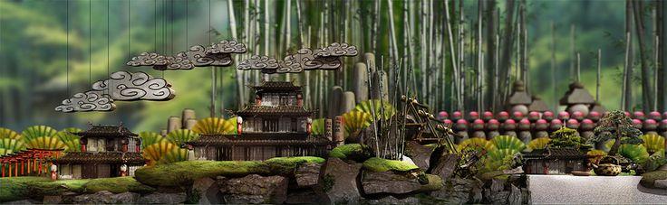 LittleBigPlanet Concept Art: Environment Sketches | Media Molecule - Creators of LittleBigPlanet and Tearaway