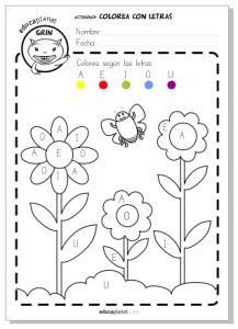 17 mejores ideas sobre letras preescolares en pinterest for Aeiou el jardin de clarilu mp3