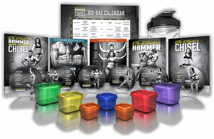The Master's Hammer & Chisel Workout – Sculpt Your Ultimate Body in 60 Days - Beachbody.com