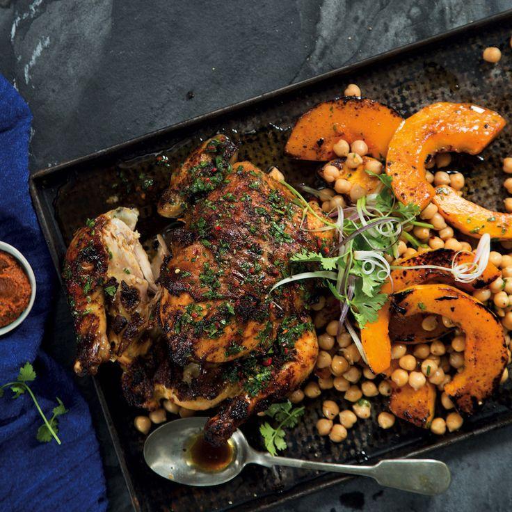 Moroccan roast chicken - MyKitchen