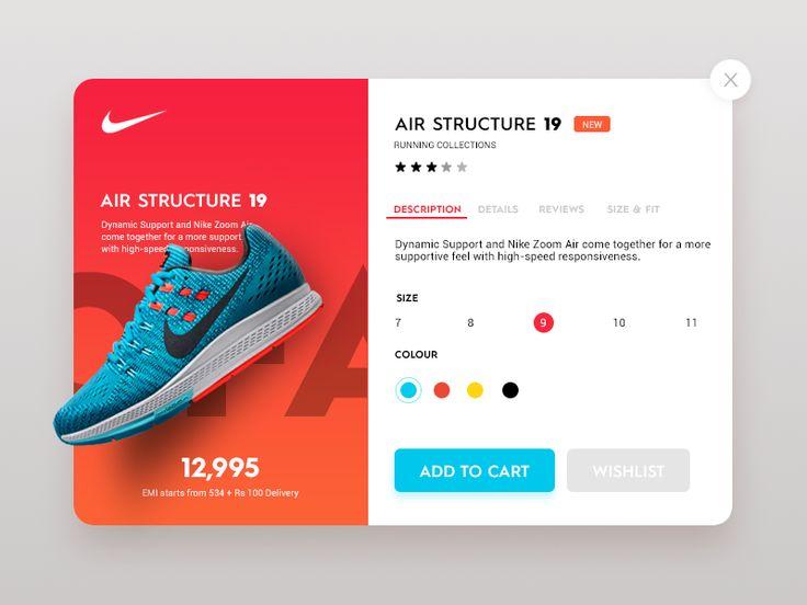 Daily UI #4 - Nike