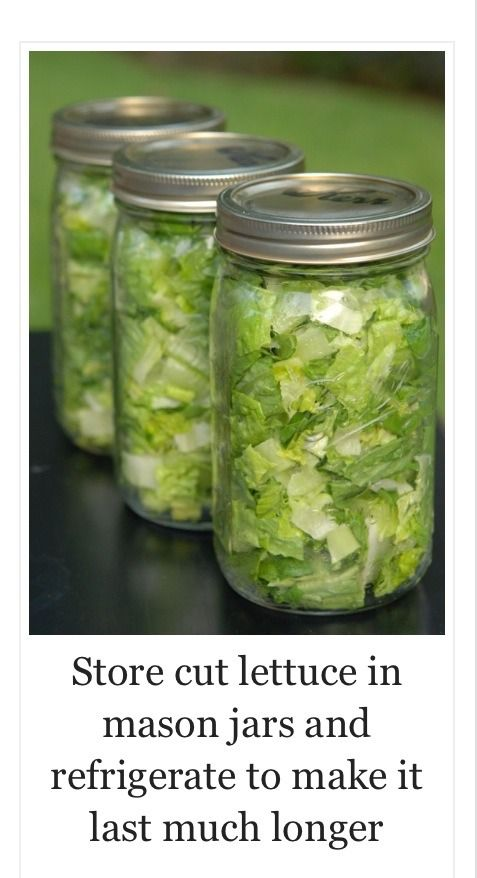 How To Keep Cut Lettuce Fresh In The Refrigerator.