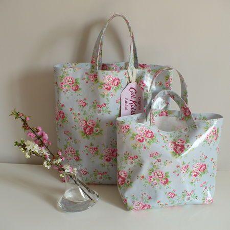 Shopping bags Cath Kidston oilcloth...