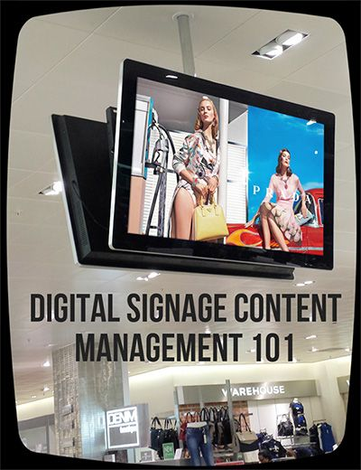 Are you confused about managing your Digital Signage content? Stop the confusion and check out our Digital Signage Content Management 101.