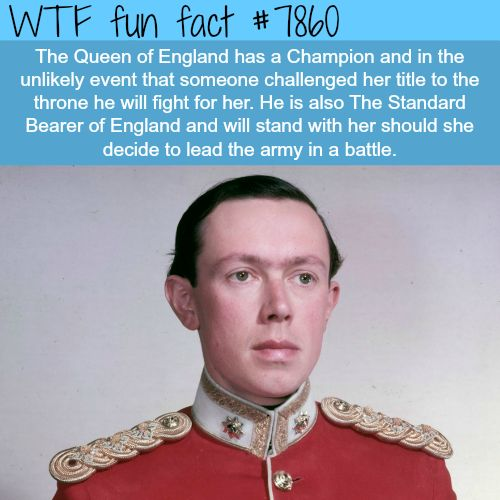 The Queen's Champion - WTF fun facts