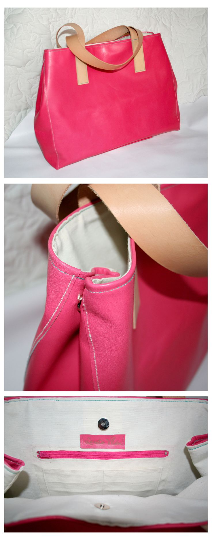 Big Bag - Pink Leather