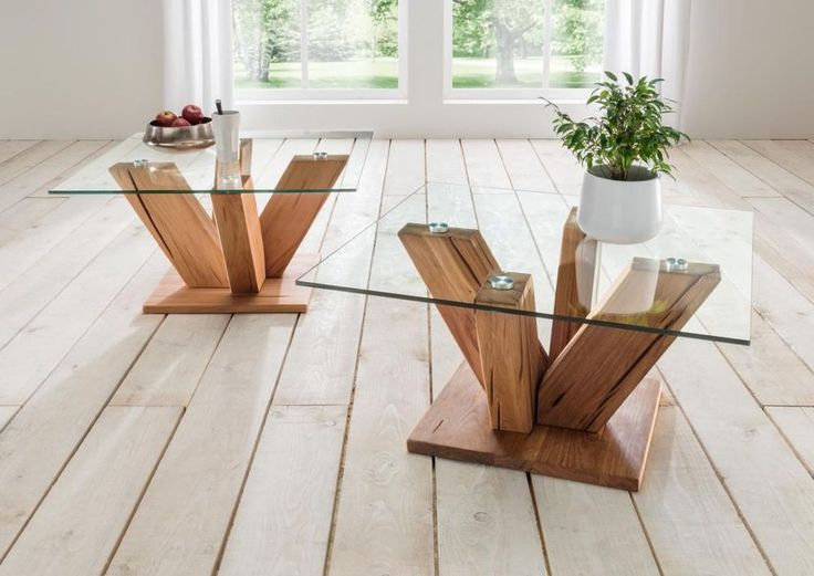 Best 25 Couchtisch Holz Glas Ideas On Pinterest