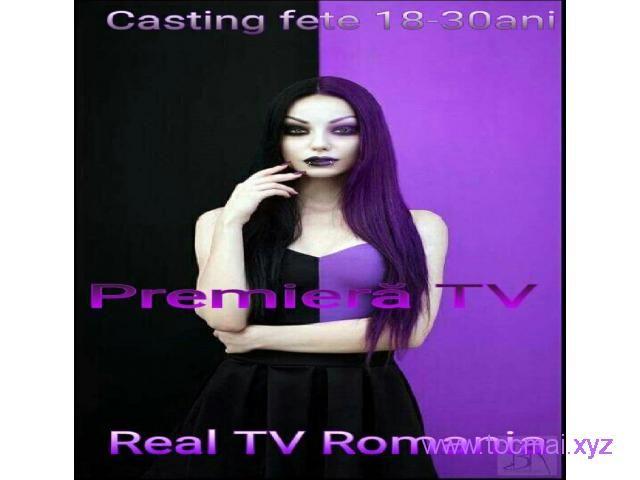 Casting fete 18-30 ani -PREMIERA TV Bucuresti - Tocmai - Anunturi Gratuite din Romania